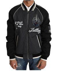 Dolce & Gabbana Sequined Beaded Jacket - Zwart