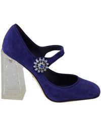 Dolce & Gabbana Pompen - Blauw