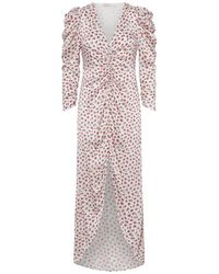 Notes Du Nord Dress Victoria - Roze