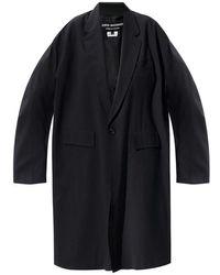 Junya Watanabe Oversize Coat - Zwart