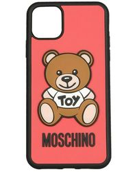 Moschino Iphone 11 Pro Max Hoesje - Rood