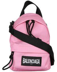 Balenciaga Oversized Mini Backpack - Roze