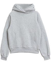 Rodebjer Sweat-shirt à capuche Monogram - Gris