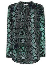 Mercy Delta Stowe blouse - Verde