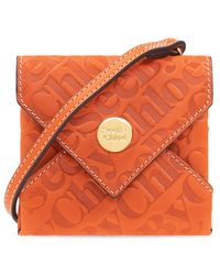 See By Chloé Shoulder Pouch - Oranje