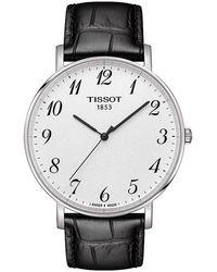 Tissot Everytime Watch - Zwart