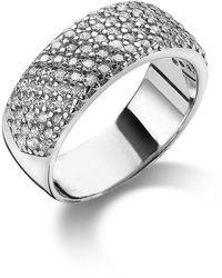 Twice As Nice Ring In Zilver - Grijs