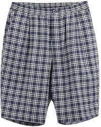 Stussy Plaid Bryan shorts - Gris