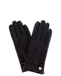 Guess Aw7996lea02 Gloves Women Black - Zwart