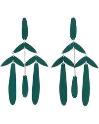 Isabel Marant Earrings Brass - Groen