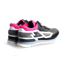 Les Hommes Sneakersy - Gris