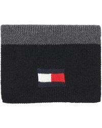 Tommy Hilfiger Flag Sjaal - Zwart