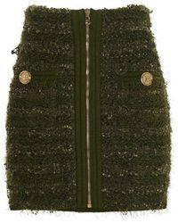 Balmain Skirt - Groen
