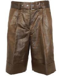 Peserico Shorts P04422a 02895 - Bruin