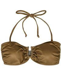 Gestuz Canagz bikini top - Marron