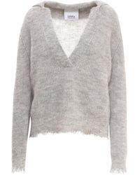 Erika Cavallini Semi Couture Knitwear P1Wc22 - Grau