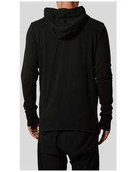 Thom Krom Zip Jacket With Hood Negro