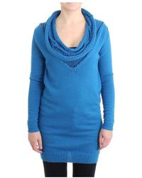 CoSTUME NATIONAL Scoopneck sweater - Blu
