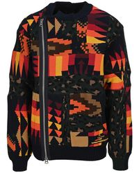 Sacai Knitwear 2102475mcotton - Verde