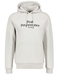 Peak Performance Hoodie - Blanc