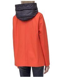 Fay Short Coat Naranja