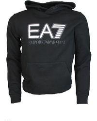 EA7 Sweater Hoodie - Zwart