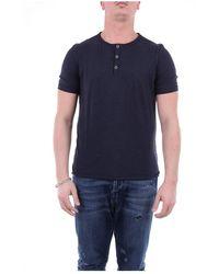 Alpha Studio Au2471u Short Sleeve T-shirt - Blauw