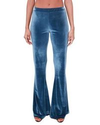 THE M.. Flared trousers - Bleu