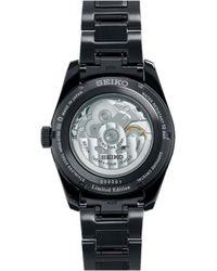 Seiko Presage Watch - Schwarz