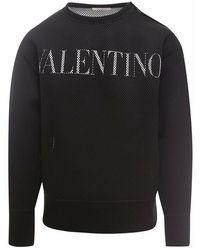 Valentino Sweatshirt Wv0mf20j7v5 - Zwart