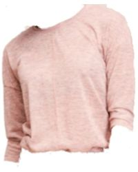 CKS T-shirt Met Lange Mouwen Marcelie - Naturel