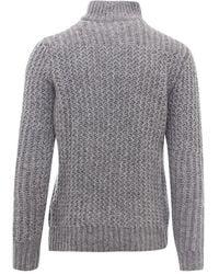Roberto Collina Knitwear Rf47015 - Gris