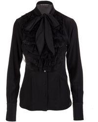 Ermanno Scervino Shirt - Zwart