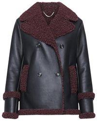 Versace Jeans Couture Coat - Zwart