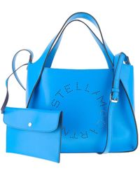 Stella McCartney Stella Logo Tote Bag - Blauw