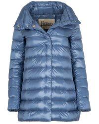 Herno Plumas Amelia coat - Bleu