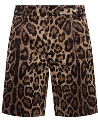 Dolce & Gabbana Creased Shorts - Bruin