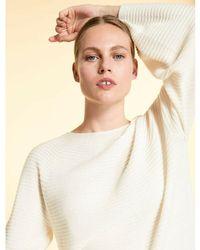 Marina Rinaldi Pullover Blanco