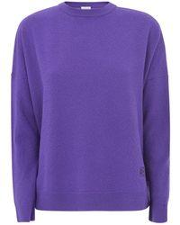Loewe Oversize Sweater - Paars