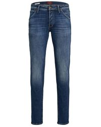 Jack & Jones Straight Jeans - Blauw