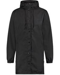 Kultivate Let It Rain Jacket - Zwart