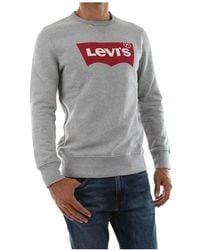 Levi's 17895 0079 Graphic Crew Sweater - Grijs