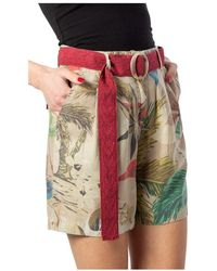 Desigual Shorts - Naturel