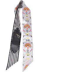 Furla Snap Shoulder Strap - Neutre