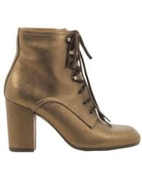 Chie Mihara Goleta Lace-up Boots - Geel