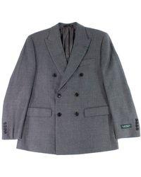 Lauren by Ralph Lauren Suit Jacket Double Breasted - Grau