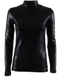 Ottod'Ame - Women's High Neck Lined Sweater - Lyst