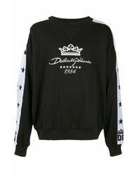 Dolce & Gabbana Sweat À Logo Brodé - Zwart