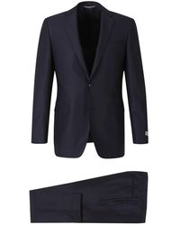 Canali Regular Suit - Blu