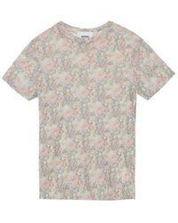 Nanushka Guy Flower Mesh T-shirt - Neutro